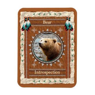 Urso - ímã de Flexi do vinil da Introspecção