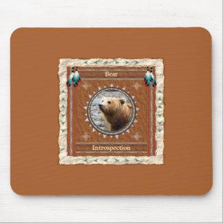 Urso - Introspecção Mousepad