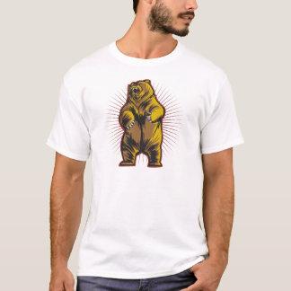 Urso irritado camiseta