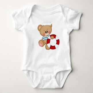 Urso náutico do marinheiro tshirts