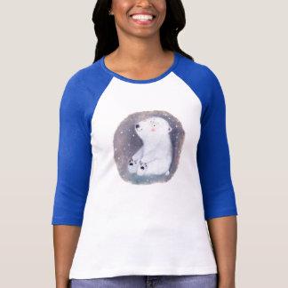 urso polar camiseta