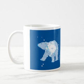 Urso polar caneca de café