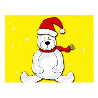Urso polar cartão postal