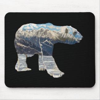 Urso polar da tundra mousepad
