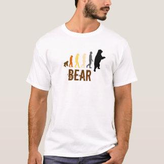 Urso/subida de cores do urso do homem camiseta