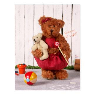 Ursos Dinky: Menina Cartão Postal