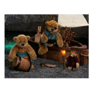 Ursos Dinky: Piratas pequenos Cartão Postal