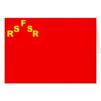 URSS, Rússia Cartoes