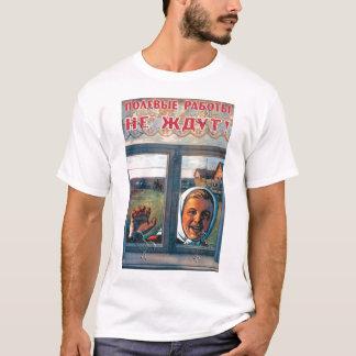 URSS, russo, soviete, propaganda Camiseta