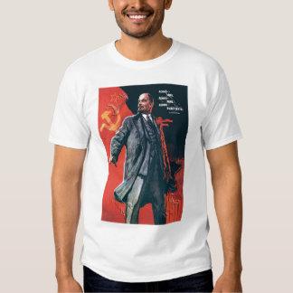 URSS, russo, soviete, propaganda, Lenin Tshirt
