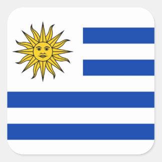 Uruguai Adesivo Quadrado