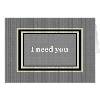USHER que Wedding o convite - prata e preto Cartão Comemorativo