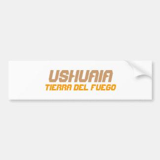 Ushuaia, Argentina. Terra do Fogo Adesivo Para Carro
