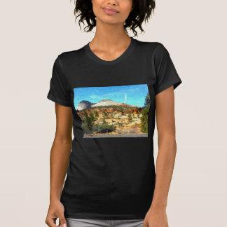 Utá do sul Vista com solo vermelho Camisetas
