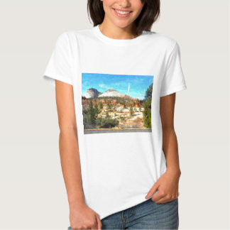 Utá do sul Vista com solo vermelho T-shirts