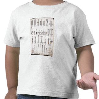 Utensílios da cozinha, de um catálogo de comércio t-shirts
