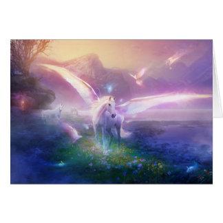 Utherworlds: winterdawn cartão