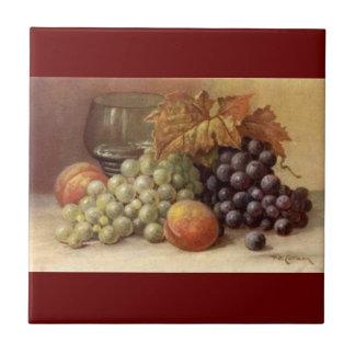 Uva ou azulejo ou Trivet do vinho