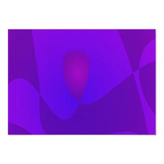 Uva simples de setembro convite 12.7 x 17.78cm