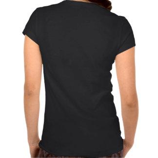 V-pescoço de HornGirl da competição Tshirts
