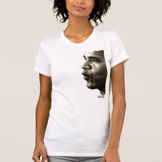 V-pescoço de Obama Camiseta