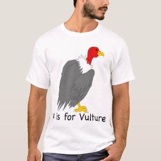 V são para o t-shirt do abutre camiseta
