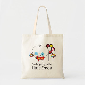 Vá comprar com Ernest pequeno v2 Sacola Tote Budget