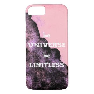Vá ilimitado como a capa de telefone do universo