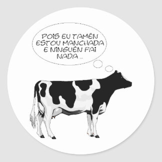 VACA%20bn%20grande vaca inteligente Adesivo
