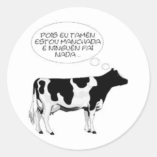 VACA%20bn%20grande vaca inteligente Adesivos
