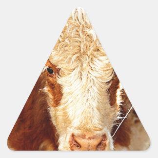Vaca Adesivo Triangular