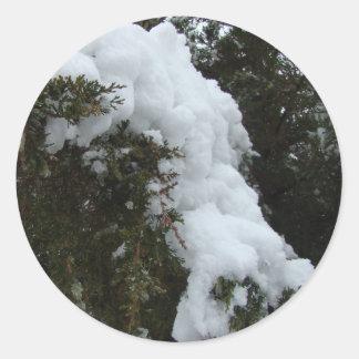 Vaca da neve adesivo