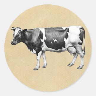 Vaca de leiteria adesivo