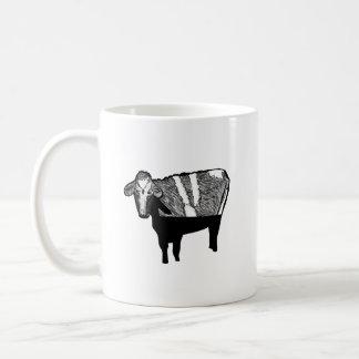 Vaca de menosprezo: Caneca engraçada do humor da