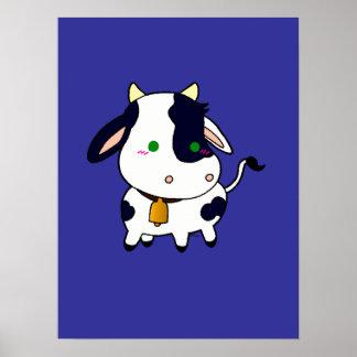Vaca do bebê pôster