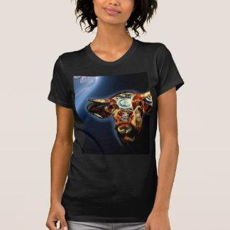 Vaca do espaço camiseta