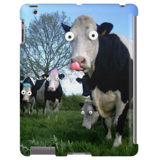 Vaca engraçada, caso de Ipad Capa Para iPad