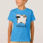 vaca engraçada do bigode de MOOstache Tshirts