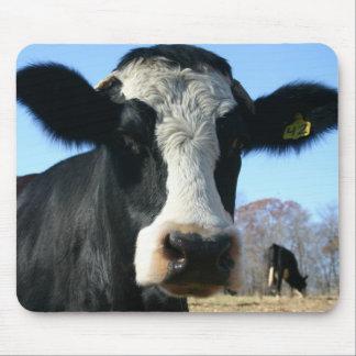 Vaca engraçada Mousepad