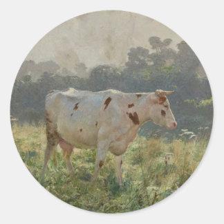 Vaca por Emile Claus Adesivo
