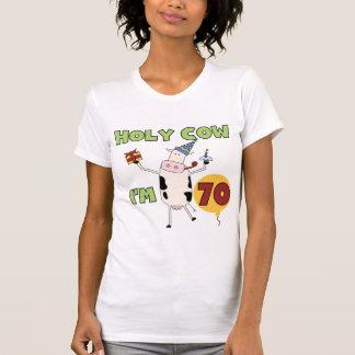 Vaca santamente eu sou 70 camisetas e presentes do