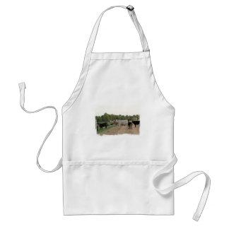 Vacas do dique de Mississippi Avental