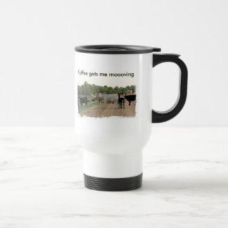 Vacas do dique de Mississippi Canecas