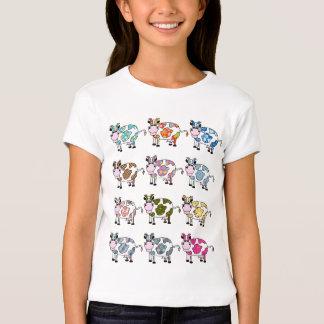 Vacas Funky Camisetas