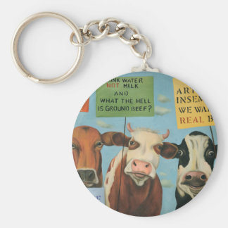 Vacas na greve chaveiro