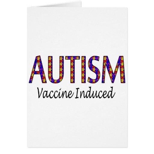 Vacina induzida cartoes