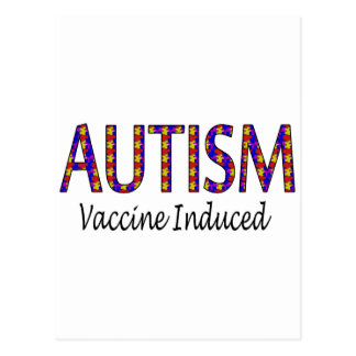 Vacina induzida cartão postal