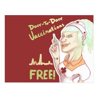 Vacinas livres cartão postal