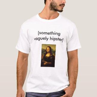 Vaga t-shirt do hipster camiseta