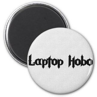 Vagabundo do laptop ímã redondo 5.08cm